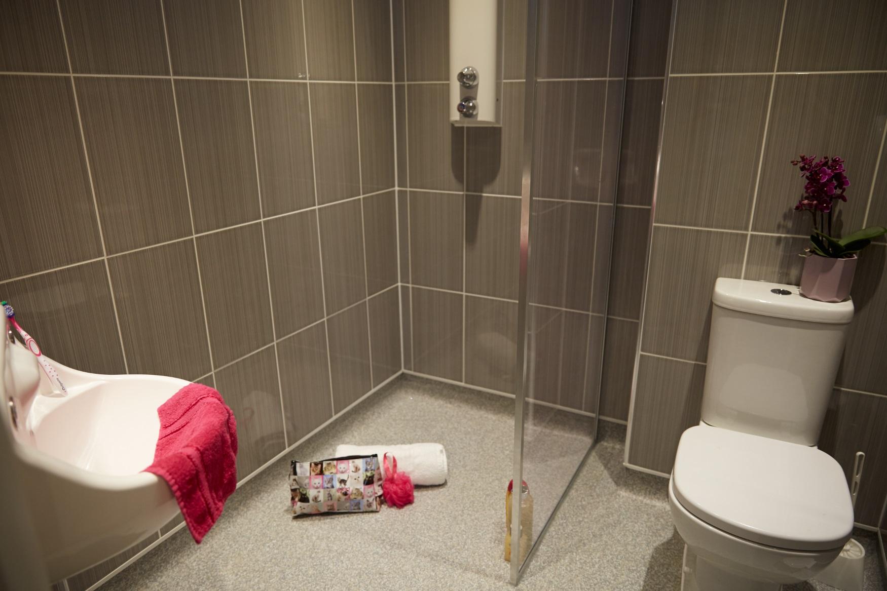 Private Adolescent Mental Health Unit bathroom