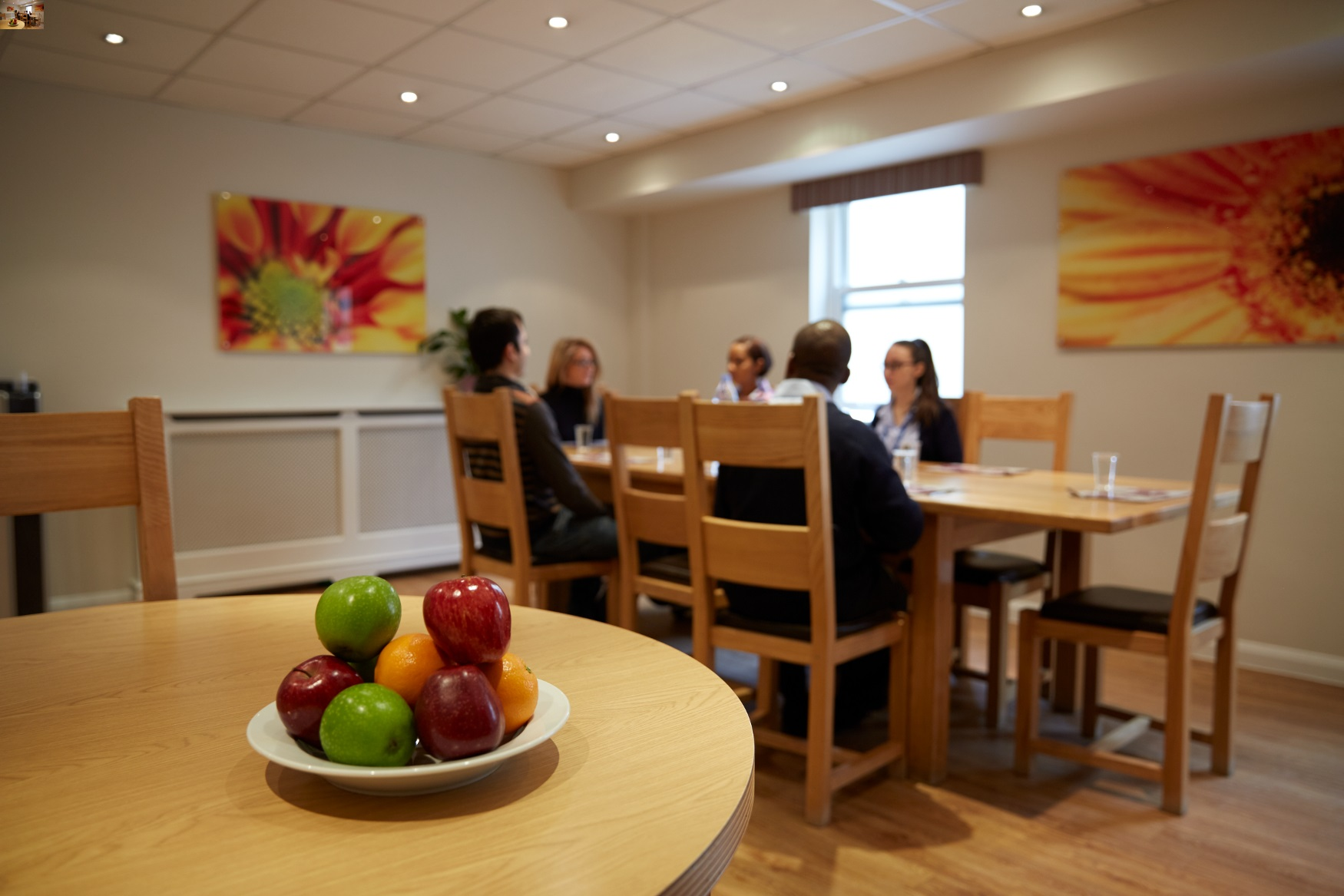 Private Mental Health Adolescent Unit Dining