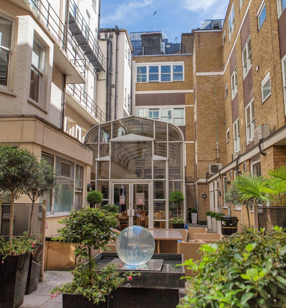 Courtyard Garden, Nightingale
