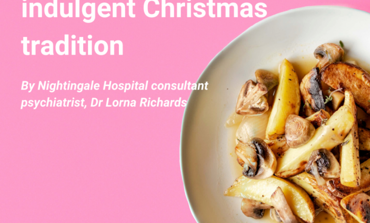 Eating disorders and the indulgent Christmas tradition